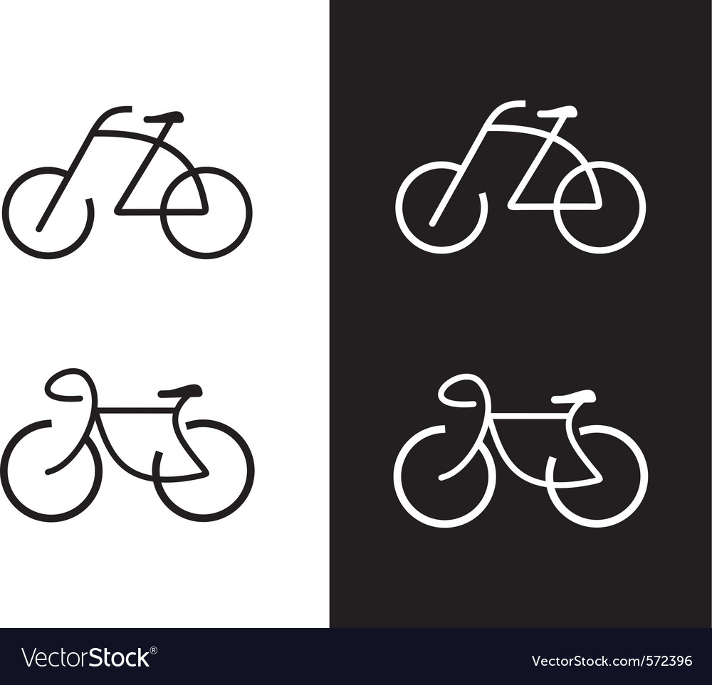 Bike icon vector | Price: 3 Credit (USD $3)