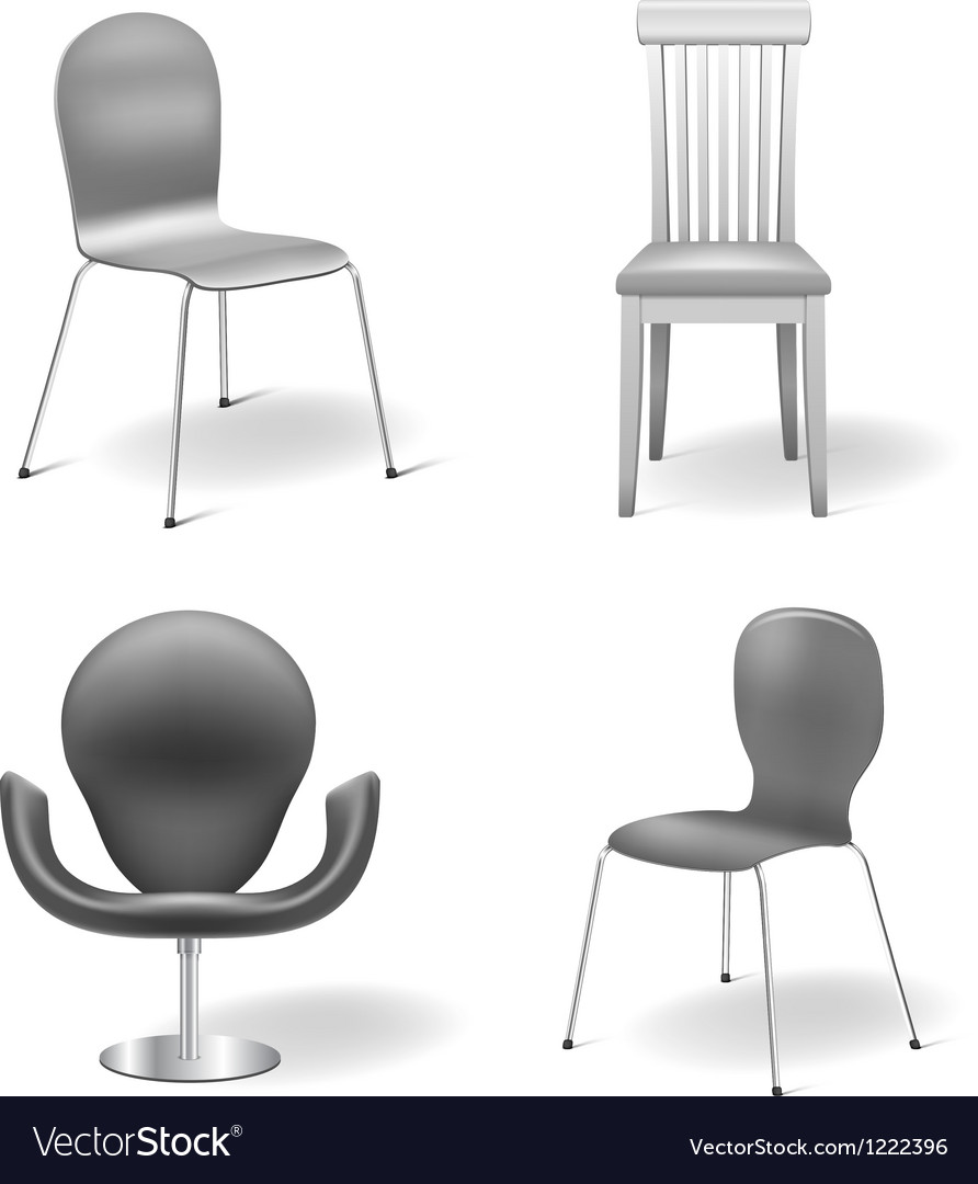 Chairs set vector | Price: 3 Credit (USD $3)
