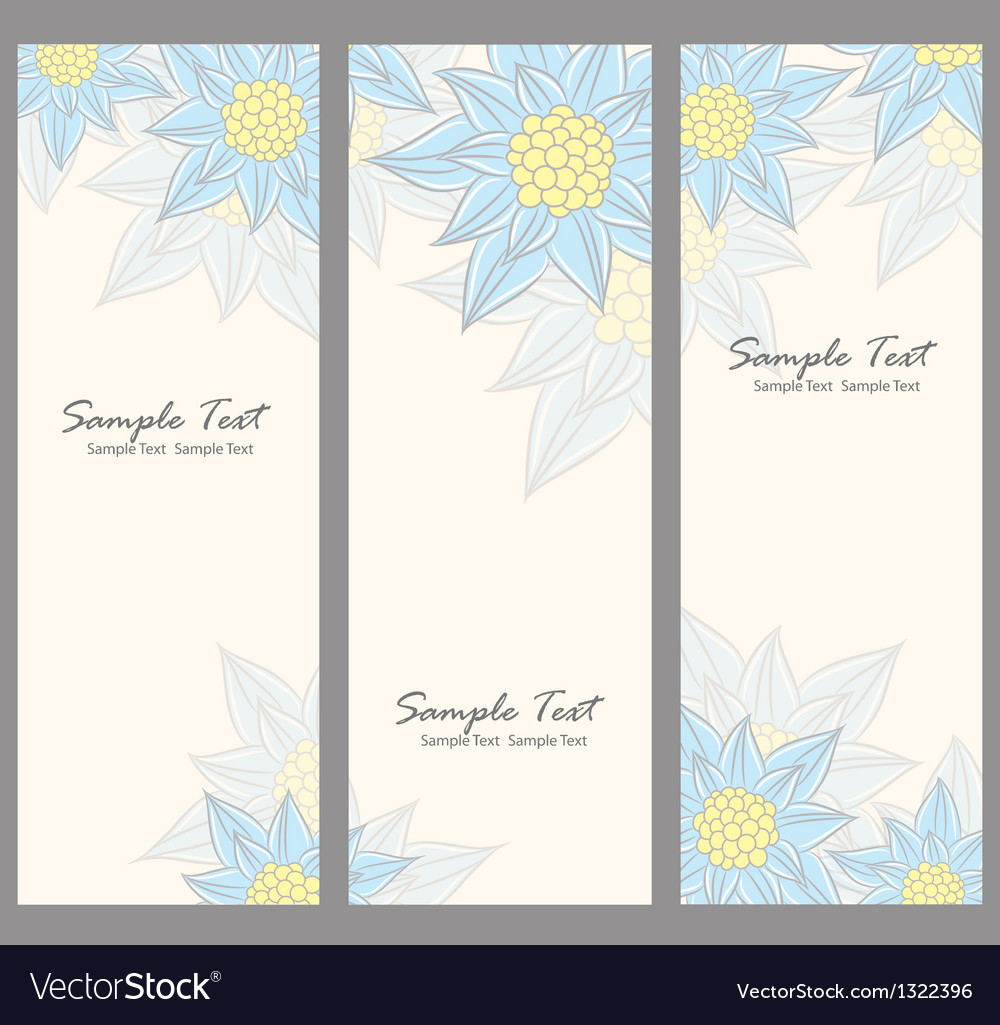 Floral banner vector   Price: 1 Credit (USD $1)