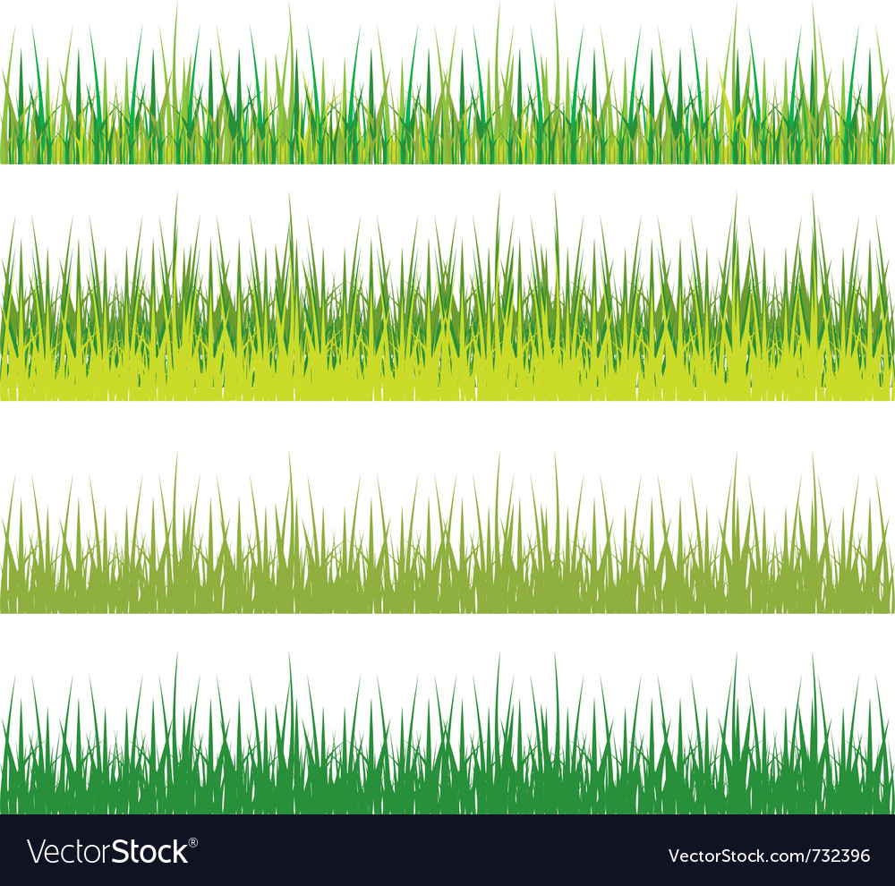 Set of grass vector | Price: 1 Credit (USD $1)