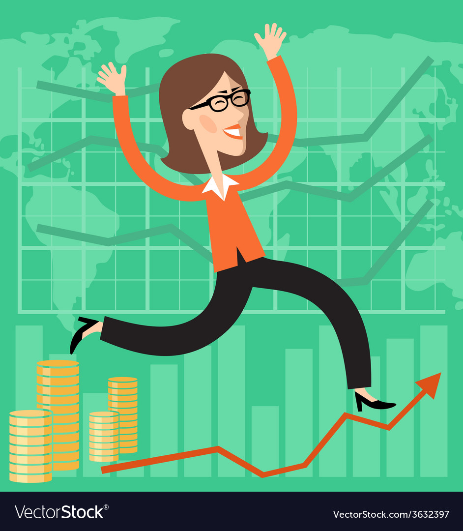 Financial success vector | Price: 1 Credit (USD $1)