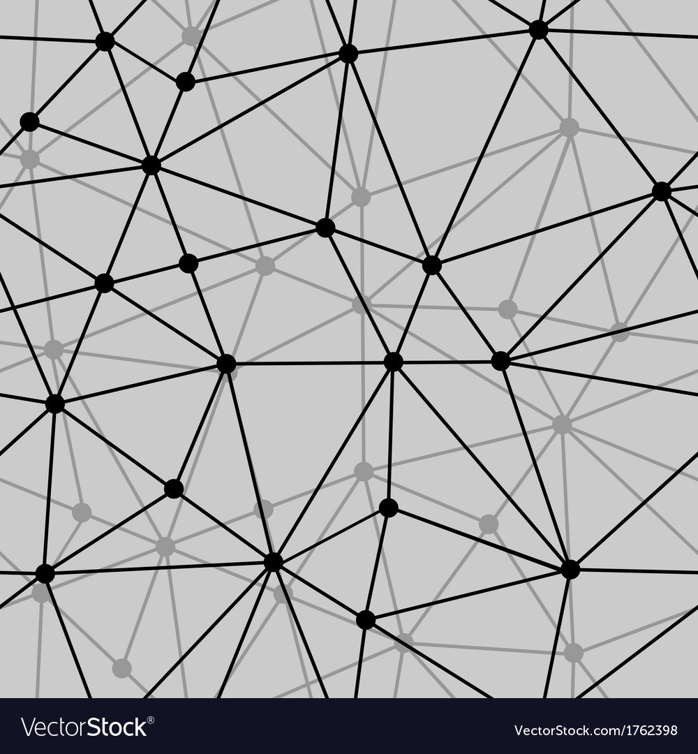 Abstract black and white net seamless background vector | Price: 1 Credit (USD $1)
