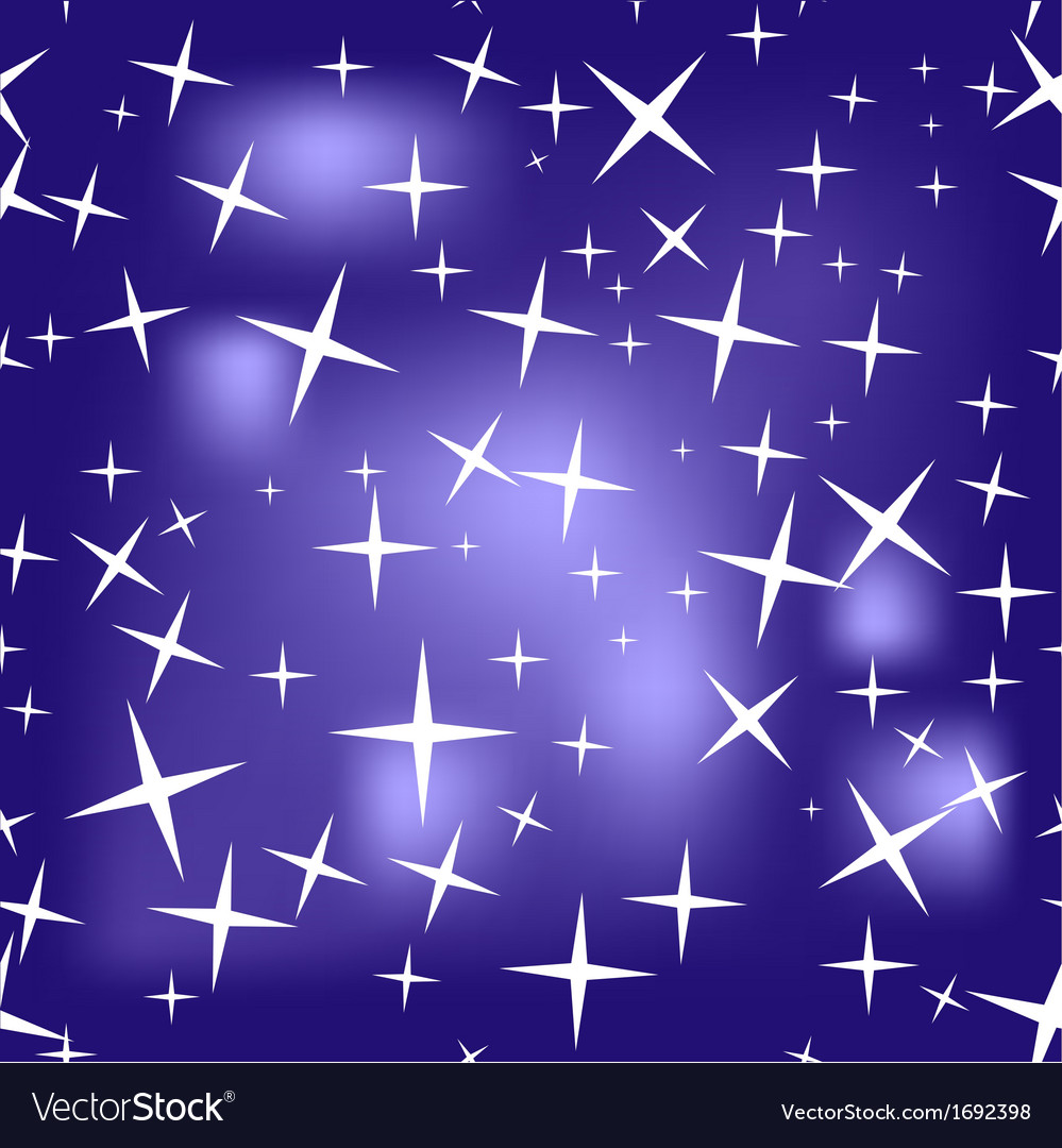 Seamless texture of starry sky vector | Price: 1 Credit (USD $1)