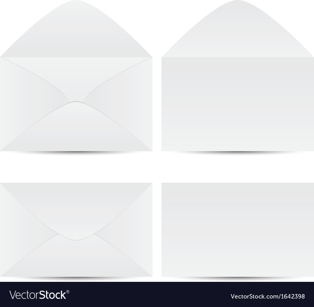 Set of envelope vector | Price: 1 Credit (USD $1)