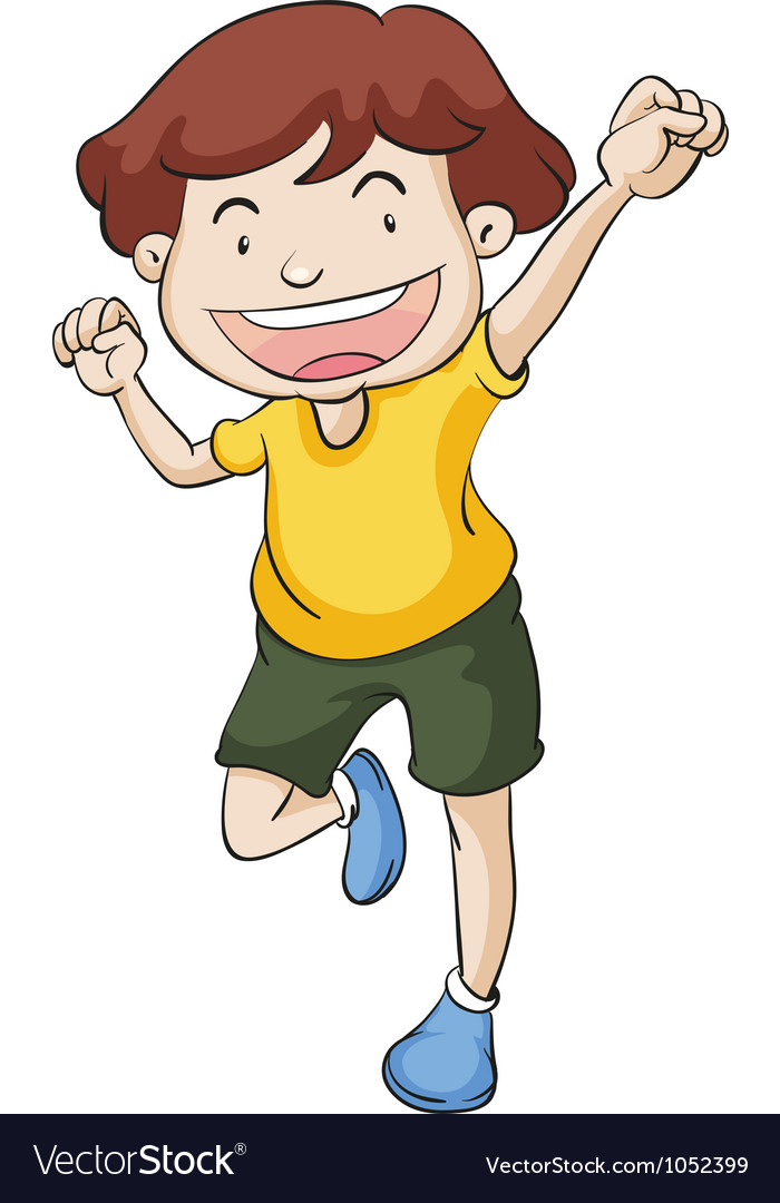 Dancing boy vector | Price: 3 Credit (USD $3)