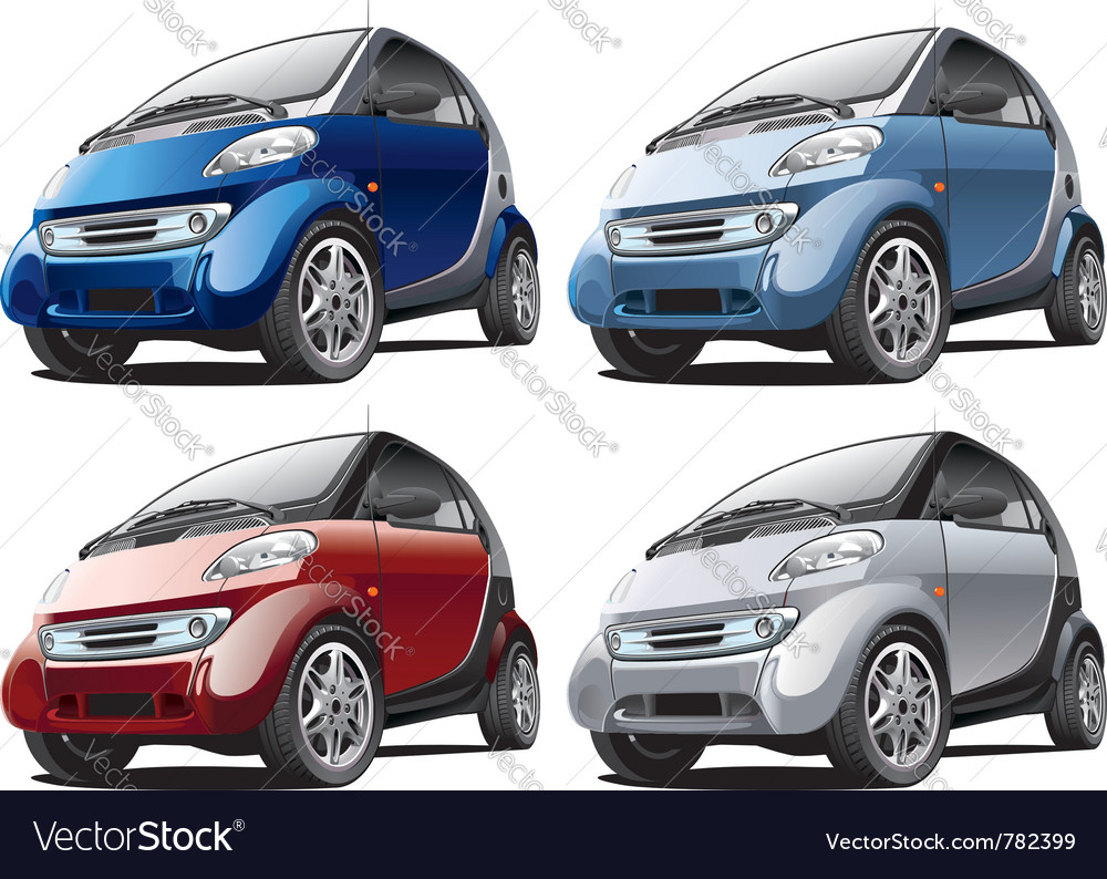 Modern smart cars vector | Price: 3 Credit (USD $3)