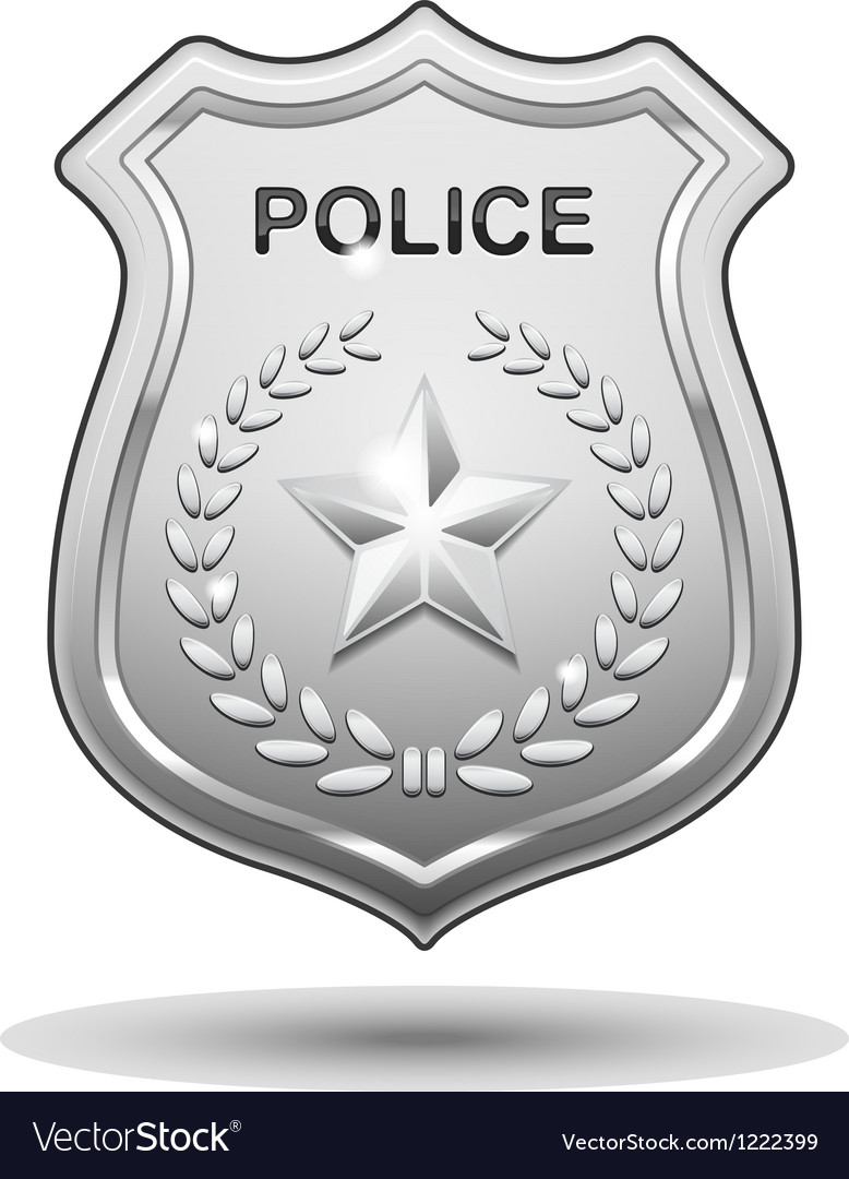 Police badge vector | Price: 3 Credit (USD $3)