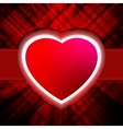 Abstract heart burst background vector