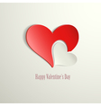 Happy valentines day hearts vector