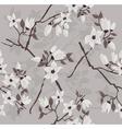Cherry branch pattern vector