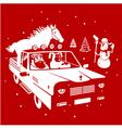 Christmas pickup vector