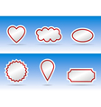 Banner color variation vector