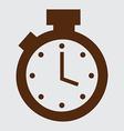 Timer design vector
