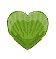 Watermelon heart shape for your design vector