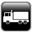 Cargo car button vector
