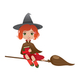 Redhair witch vector