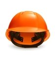 Hard hat icon vector