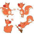 The squirrels clip art vector
