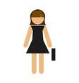 Businesswoman design vector