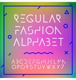 Fashion alphabet letters collection vector