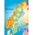 Norway vector