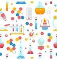 Chemistry seamless pattern vector