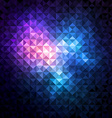 Shiny mosaic background vector