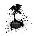 Tree grunge vector