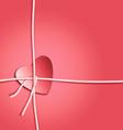 Heart present vector