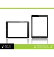 Modern tablet pc computer isolation  eps10 vector