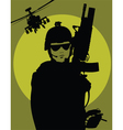 Military poster vector