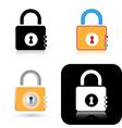 Lock icons vector