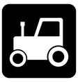Tractor button vector