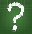 Paperwork questions vector