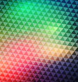 Colorful geometric banner vector