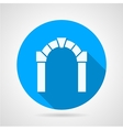 Flat icon for architecture vector