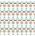 Seamless pattern of anchors wheels and mustache vector