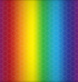 Abstract rainbow background with cells vector