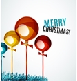 Christmas ball bauble new year concept vector