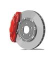 Brake disc vector
