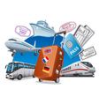 Travel service concept vector
