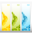 Set of three abstract banners eps 10 vector