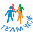 Teamwork collaboration vector