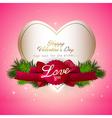 Valentine gift card design vector