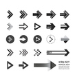 Arrow icons design set vector