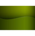 Background green stripe wave one vector