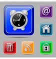Set web buttons vector