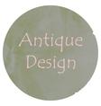 Antique colors design vector