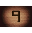 Number nine icon symbol flat modern web design vector
