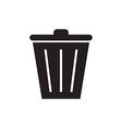 Trash bin vector